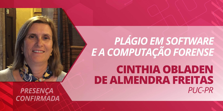 Cinthia Obladen de Almendra Freitas